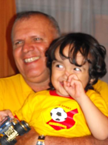 Con el tio abuelo