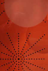 Orange window display (lydiafairy) Tags: shadow orange abstract color art window circle star design nikon with laranja round tacoma nothing shape naranja rhymes blorenge rhymeswithorange d80 netneutrality matters2me