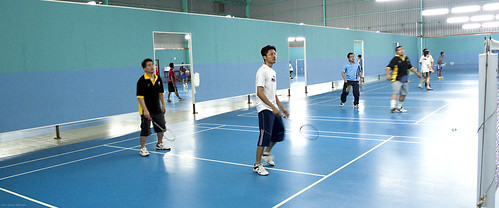 090525 Ex-Terendak Badminton (by Haris Abdul Rahman)