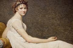 Juliette Rcamier (dtail) (Yvan LEMEUR) Tags: david paris art louvre peinture tableau musedulouvre jacqueslouisdavid madamercamier juliettercamier