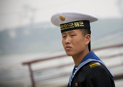 Sailor - North Korea (Eric Lafforgue) Tags: pictures photo war asia picture korea kimjongil asie coree northkorea pyongyang dprk coreadelnorte kimilsung nordkorea    coredunord coreadelnord  northcorea coreedunord  insidenorthkorea  rpdc  coriadonorte  northkoreaarmy kimjongun coreiadonorte