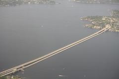 seattle bridge arial (kradhakr) Tags: seattle bridge arial