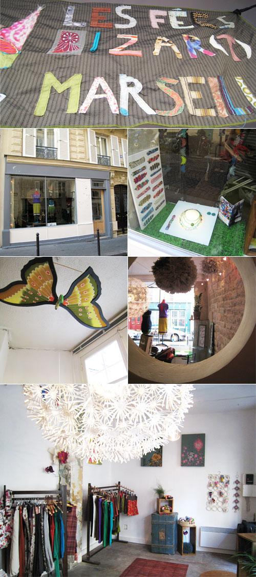 Boutique Fées Bizart Paris- Mai 2009
