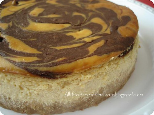 Mango Chocolate Swirl Cheesecake - Part III