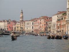 The Grand Canal (roopez123) Tags: travel venice vacation italy gondola grandcanal gondoliers vaparetto travelon5photosaday