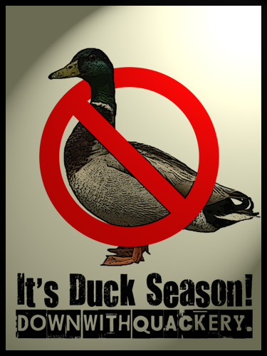 Anti Quacks Poster
