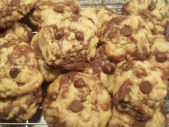 (More) Chocolate Chip Cookies (toadstool ring) Tags: food cookies yum homemade chocolatechip