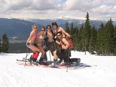n21004865_36056290_282 (_T604) Tags: fun whistler skiing stupid telemark blackcomb springskiing toplessskiing resortskiing springslush slushskiing