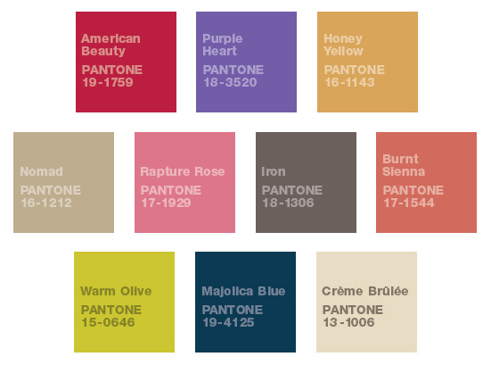 Pantone Color Palette 2
