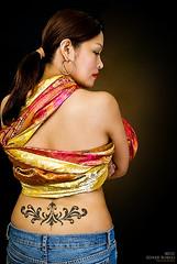Miss Independent (Edner) Tags: tattoo photography saudi filipino pinay jeddah caregiver tattooportrait ednerrobles abigailsolaresrobles