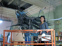 Crystal Monster: final assembly!