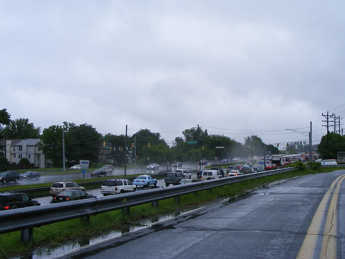 Sad Rainy Traffic Jam, 29 at Industrial