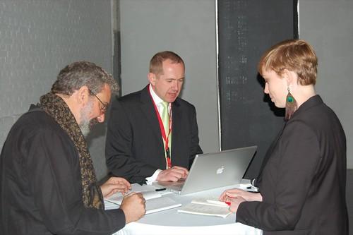 Design for Conversion - Die Jury aus den Keynote-Rednern bei der Bewertung