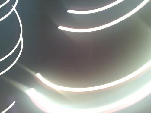 Blurred light - Brighton Dome