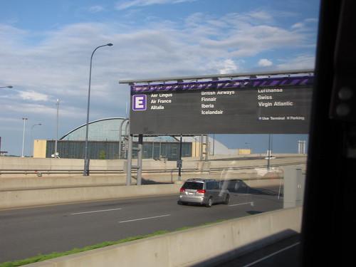 Logan shuttle to Terminal E