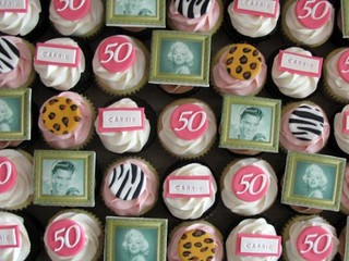 Fifty and Fabulous Cupcakes