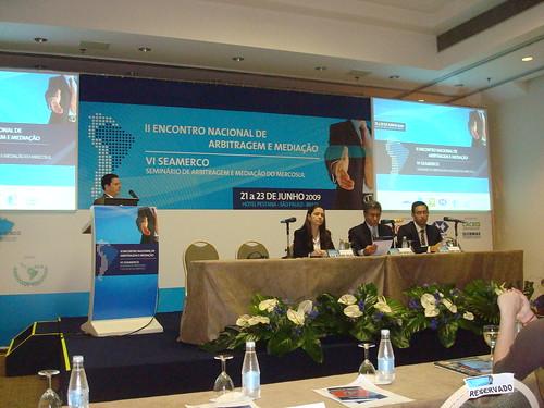 VI SEAMERCO e II Encontro Nacional de Arbitragem e Mediação - São Paulo de 21 a 23 de junho 2009