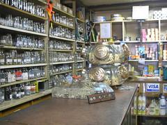 Interior da loja: fundo