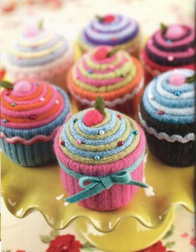 Alfineteiro cupcake 4