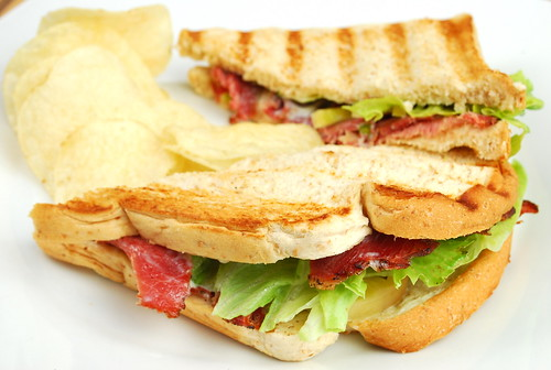 Grilled Sandwich -  Beef Pastrami