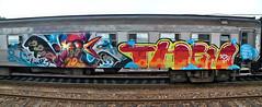 DYNAMITE_DELUX (BREakONE) Tags: portugal train de effects graffiti gallo break grafiti steel character graffity colored characters then dynamite maniacs 2010 gallos galo barcelos delux cfs galos breakone gsby