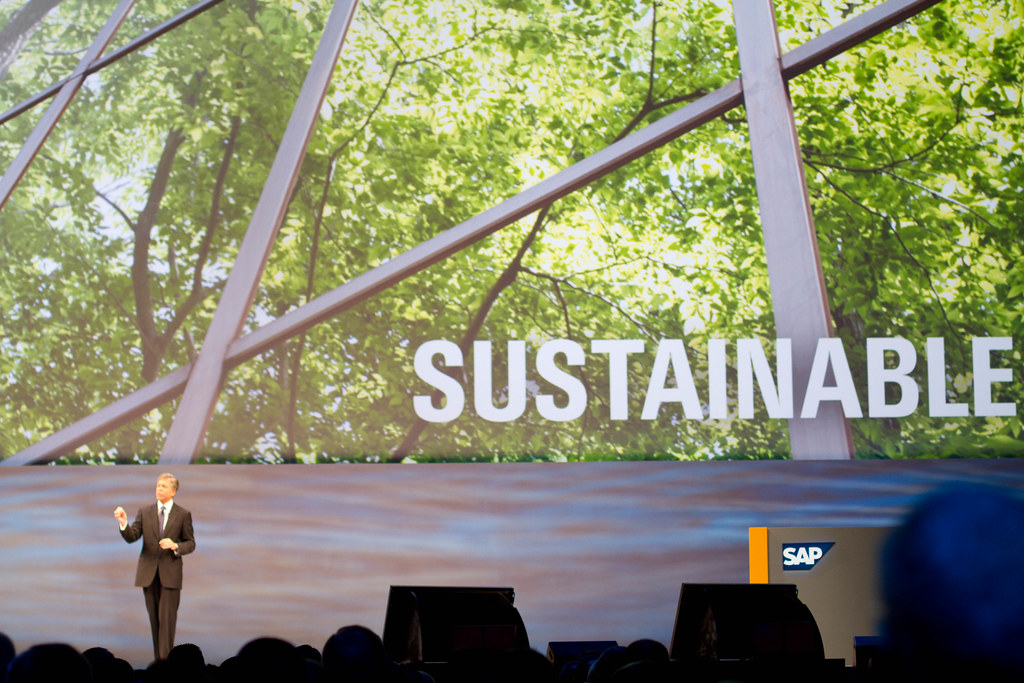 SAP co-CEO Bill McDermott at SapphireNow 2010