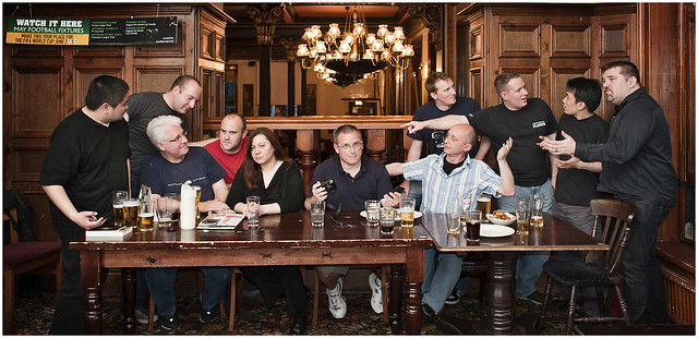The Last Supper - Strobist way