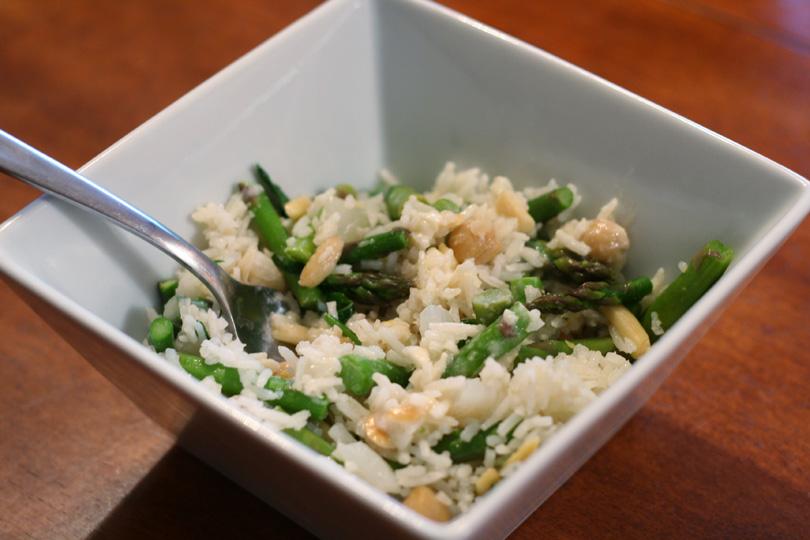 Rice & Asparagus