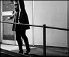Untitled #30 (Francesco Baldiotti) Tags: bw girl 50mm blackwhite cigarette smoke almostbw olympus bn smoking explore bianconero biancoenero 43 ragazza ringhiera 43adapter sullengirl esplora zuikoom50mm adattatore olympuse410 zuikolove theauthorsplaza theauthorsclub