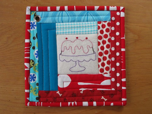 Potholder Pass 3 cake