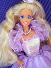 Ballroom Beauty Barbie 1991 (Chicomttel) Tags: beauty barbie ballroom 1991 mattel inc