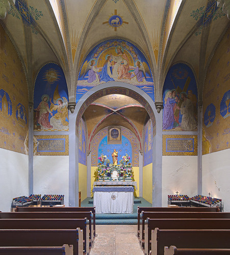 Saint Meinrad Archabbey, in Saint Meinrad, Indiana, USA - Monte Cassino Shrine - interior