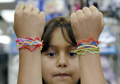 Silly Bandz (AP Photo/Alan Diaz)