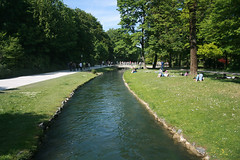 River - English garden Munich