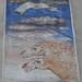 In cerca di gloria; 1985. Affresco, cm 200x300.<br /> Maglione, Piazza XX Settembre.<br />