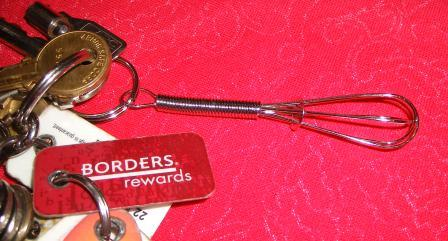 My Whisk Key Chain
