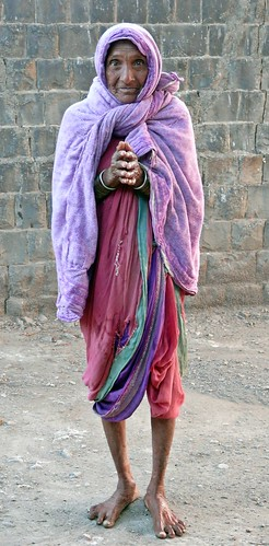 All rural Indian granny's representative by Saurabh Sawant 2009.