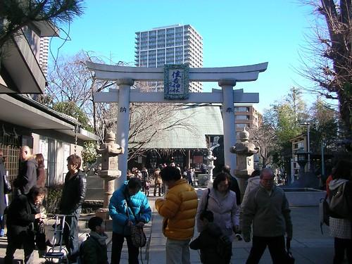 初詣(住吉神社) Sumiyoshi Jinja Shirine