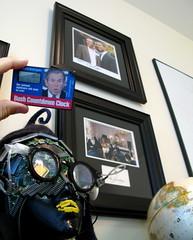 Bush Watch (jurvetson) Tags: clock dc bush clinton georgewbush w whitehouse globalization billclinton countdown obama inauguration woot barackobama obamarama t3days debushed