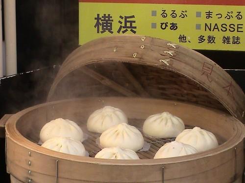 yokohama chinatown steamed buns