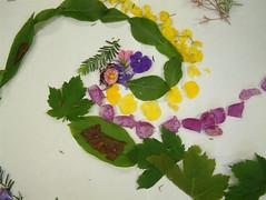 Andy Goldsworthy 17 (maureencrosbie) Tags: school art nature leaves garden scotland angus childrensart andygoldsworthy langlands cortachy eassie