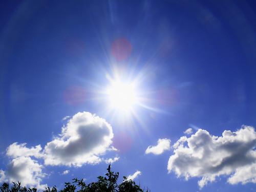 Sommer Sonne Wolken