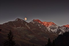 Oktober 2008 (Matu70) Tags: mond sonnenuntergang alpen vorarlberg