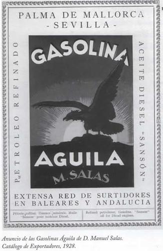 gasolina Águila