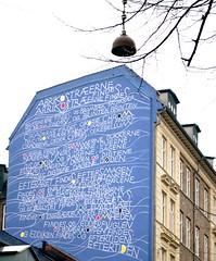 Alphabet (.susanne) Tags: copenhagen poet alphabet inger nrrebro christensen digter christenseninger 19352009 wallbydeartriermrch19412001 steffansgade