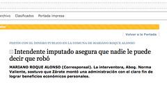 (nadie en campaña) Tags: paraguay justicia nadie reparación ladrón imputado