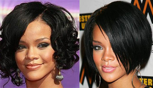 rihanna short hairstyles. rihanna short hairstyles