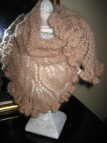 Frilled Scarflette by you.