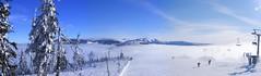 Winterimpression (fotomsen) Tags: schnee winter panorama sun holiday snow ski urlaub tschechien finepix fujifilm sonne wintersport karkonosze mlyn riesengebirge spindleruv krknose s5800