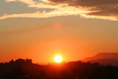 Borso's sunset (sisto80) Tags: flowers winter sunset sky italy sun mountain nature alberi canon tramonto nuvole natura eos350d paesaggio sera orizzonte